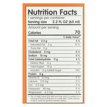 Smooz.e All Natural Fruit Ice - Mango Coconut - Case of 12 - 17.6 Fl oz.