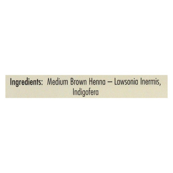 Rainbow Research Henna Hair Color and Conditioner Persian Medium Brown Chestnut - 4 oz
