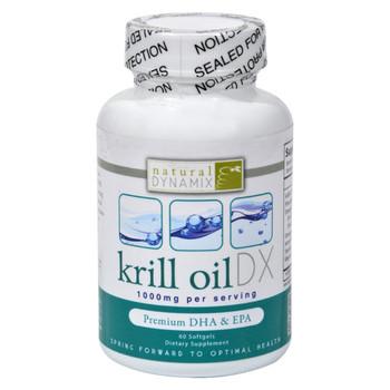Natural Dynamix Krill Oil DX - 60 Softgels