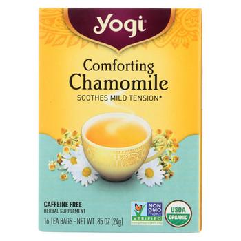 Yogi Tea Comforting Chamomile - Caffeine Free - 16 Tea Bags