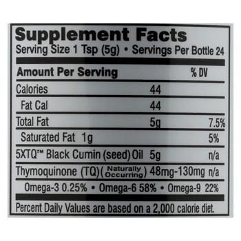 Amazing Herbs Black Seed Oil - 4 fl oz