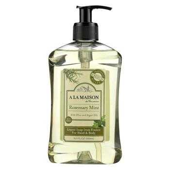 A La Maison French Liquid Soap - Rosemary Mint - 16.9 fl oz