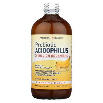 American Health Probiotic Acidophilus Banana - 16 fl oz