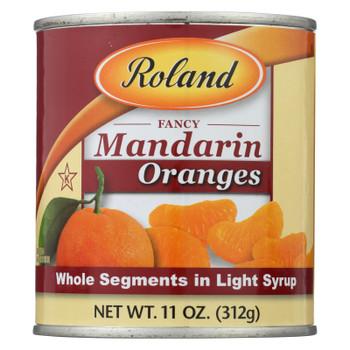 Roland Products Mandarin Orange - Who - Fancy - Case of 24 - 11 oz