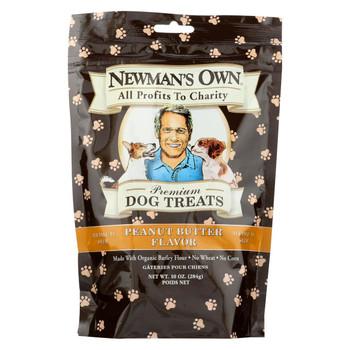 Newman's Own Organics Premium Butter Treats - Peanut - Case of 6 - 10 oz.