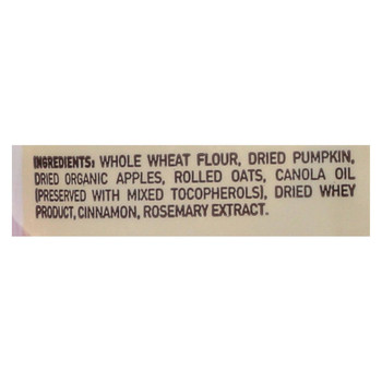 Castor and Pollux Dog Cookies - Pumpkin and Apple - Case of 8 - 16 oz.