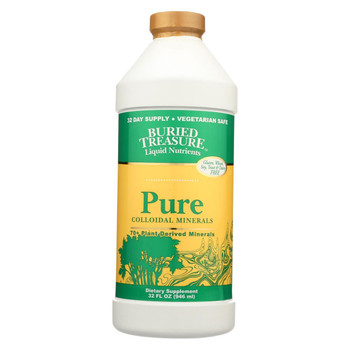 Buried Treasure - 70 Plus Plant Derived Minerals - 32 fl oz