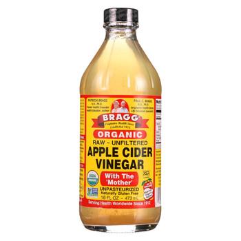 Bragg - Apple Cider Vinegar - Organic - Raw - Unfiltered - 16 oz - case of 12