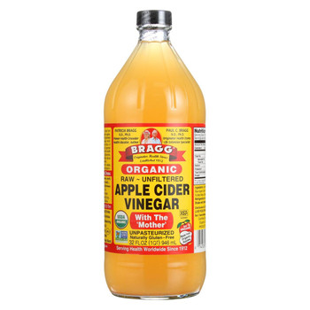 Bragg - Apple Cider Vinegar - Organic - Raw - Unfiltered - 32 oz - case of 12