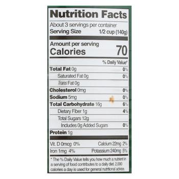 Native Forest Organic Chunks - Papaya - Case of 6 - 14 oz.