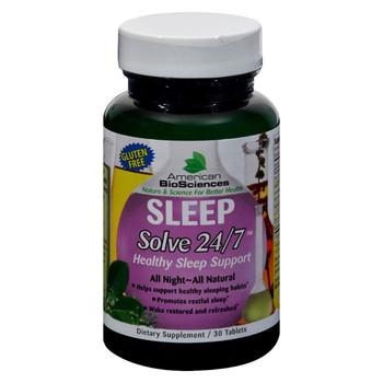 American Bio-Science Sleep Solve 24/7 - 30 Ct