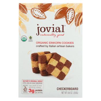 Jovial - Cookie - Organic - Einkron - Checkerboard - 8.8 oz - case of 12