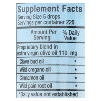 North American Herb and Spice OregaDENT Cinnamon and Clove - 1 fl oz