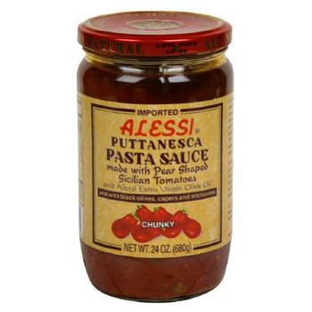 Alessi - Pasta Sauce - Puttanesca - Case of 6 - 24 oz