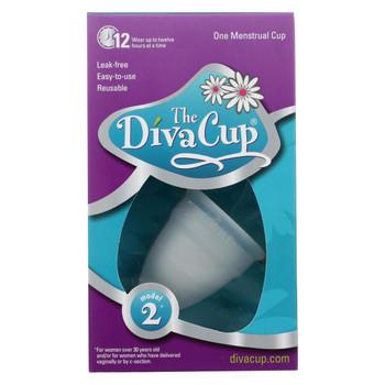 Diva Cup Menstrual Cup -Model 2 - 1 count