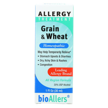 Bio-Allers Grain and Wheat Allergy Treatment - 1 fl oz