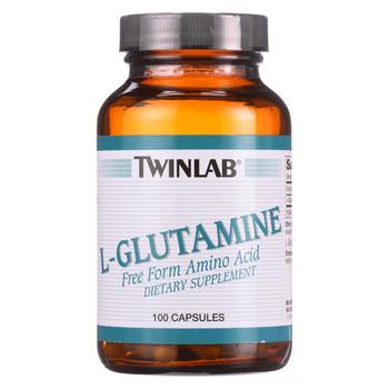Twinlab L-Glutamine - 500 mg - 100 Capsules