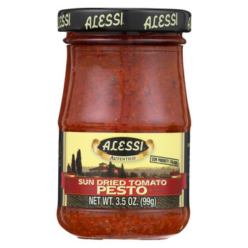 Alessi Pesto - Sundried Tomato - Case of 6 - 3.5 oz