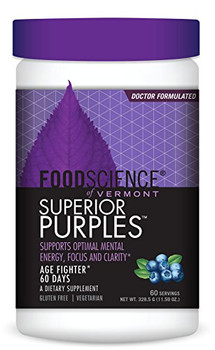FoodScience of Vermont Superior Purples - 30 Servings