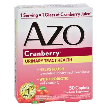 Azo Cranberry Caps - 50 Caplets