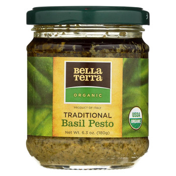 Bella Terra Pesto - Garlic - Basil - Case of 6 - 6.3 oz