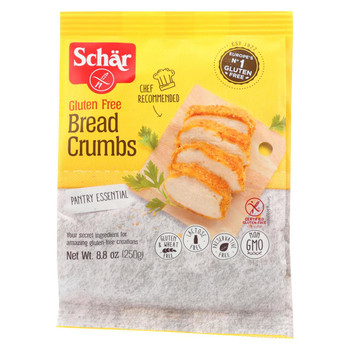 Schar Bread Crumbs Gluten Free - Case of 12 - 8.8 oz.
