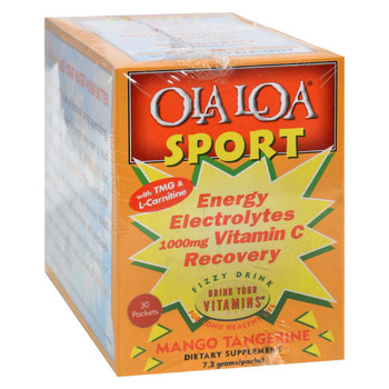 Ola Loa Sport Mango Tangerine - 30 Packets