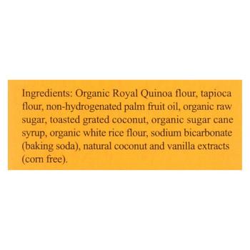 Andean Dream Gluten Free Quinoa Cookies Coconut - Case of 6 - 7 oz.