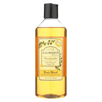 A La Maison - Shower Gel - Honeysuckle - 16.9 oz