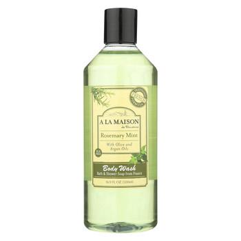 A La Maison - Body Wash - Rosemary Mint - 16.9 fl oz.