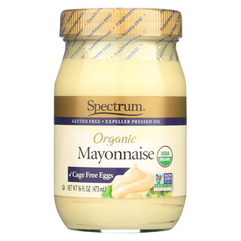 Spectrum Naturals Organic Mayonnaise with Cage Free Eggs - 16 oz.