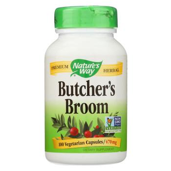 Nature's Way - Butcher's Broom - 100 Capsules