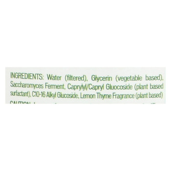 Biokleen Bac-Out Fresh Natural Fabric Refresher - Lemon Thyme - 16 oz