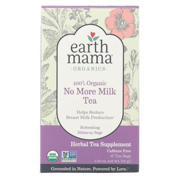 Earth Mama Angel Baby Organic No More Milk Tea - 16 Tea Bags