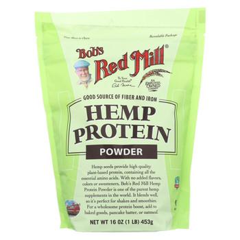 Bob's Red Mill Hemp Protein Powder - 16 oz - Case of 4
