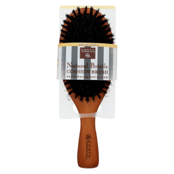 Earth Therapeutics Natural Bristle Cushion Brush - 1 Brush