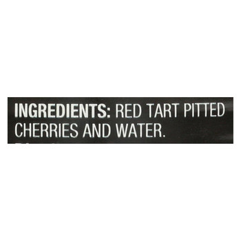 Oregon Fruit Red Tart Cherries In Water - Case of 8 - 14.5 oz.