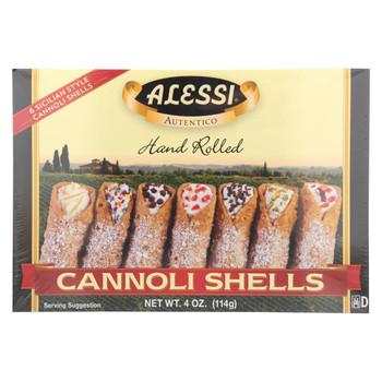 Alessi Cannoli Shells - Large - Case of 12 - 4 oz.