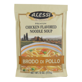 Alessi - Noodle Soup - Chicken - Case of 6 - 6 oz.