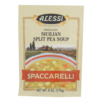 Alessi - Split Pea Soup - Spaccarelli - Case of 6 - 6 oz.