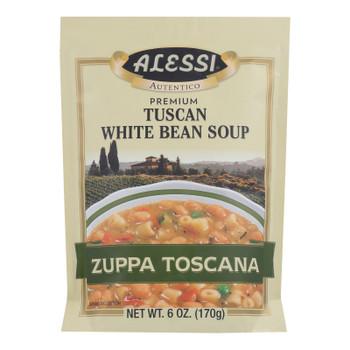 Alessi - Tuscan - White Bean Soup - Case of 6 - 6 oz.