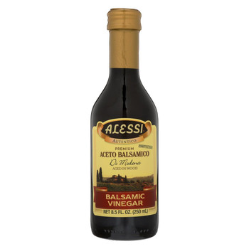 Alessi Vinegar - Aceto Balsamic - Case of 6 - 8.5 FL oz.