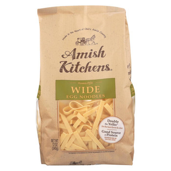 Amish Kitchen Wide Noodles - Case of 12 - 12 oz