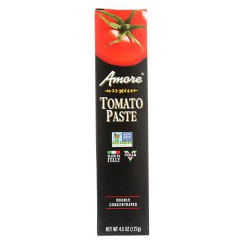 Amore Tomato Paste - Tube - 4.5 oz - case of 12