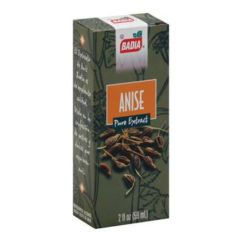 Badia Spices - Anise Extract - Case of 12 - 2 Fl oz.