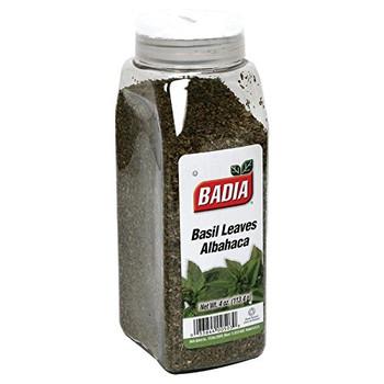 Badia Spices - Basil Leaves - Case of 6 - 4 oz.