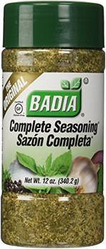 Badia Spices - Complete Seasoning - Case of 12 - 12 oz.