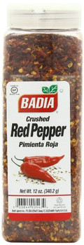 Badia Spices - Crushed Red Pepper - Case of 6 - 12 oz.