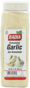 Badia Spices - Garlic Granulated - Case of 6 - 24 oz.