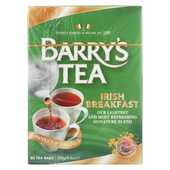 Barry's Tea - Irish Tea - Irish Breakfast - Case of 6 - 80 Bags